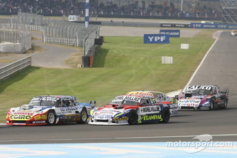 Lionel Ugalde , Ugalde Competicion Ford, dan Juan Martin Trucco, JMT Motorsport Dodge, dan Sergio Alaux, Coiro Dole Racing Chevrolet, dan Emanuel Moriatis, Alifraco Sport Ford