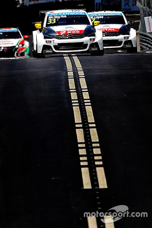 Ма Цин Хуа, Citroën C-Elysée WTCC, Citroën World Touring Car team