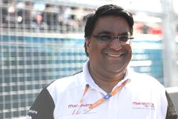 Дильбаг Джилл, руководитель команды Mahindra Racing