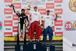 Podyum: Yarış galibi Goutham Parekh, ikinci Tejas Ram, üçüncü Karthik Tharani