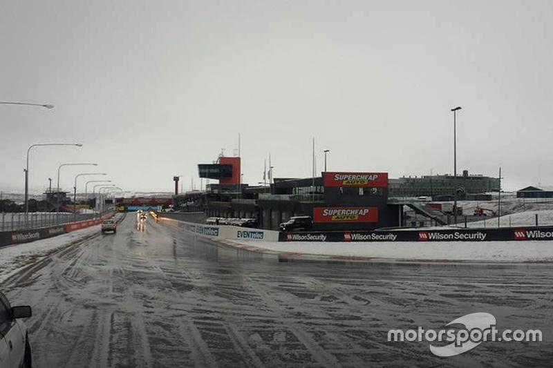 Nieve en Bathurst