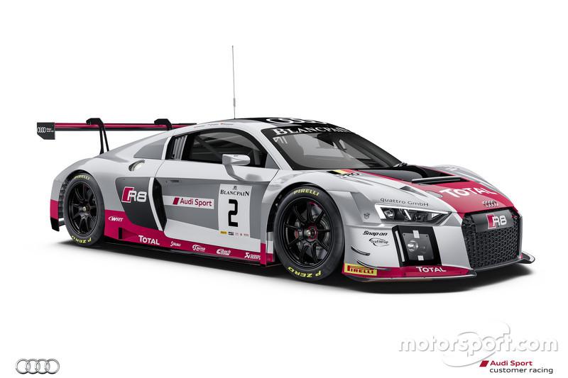 #2 Audi Sport Team WRT Audi R8 LMS