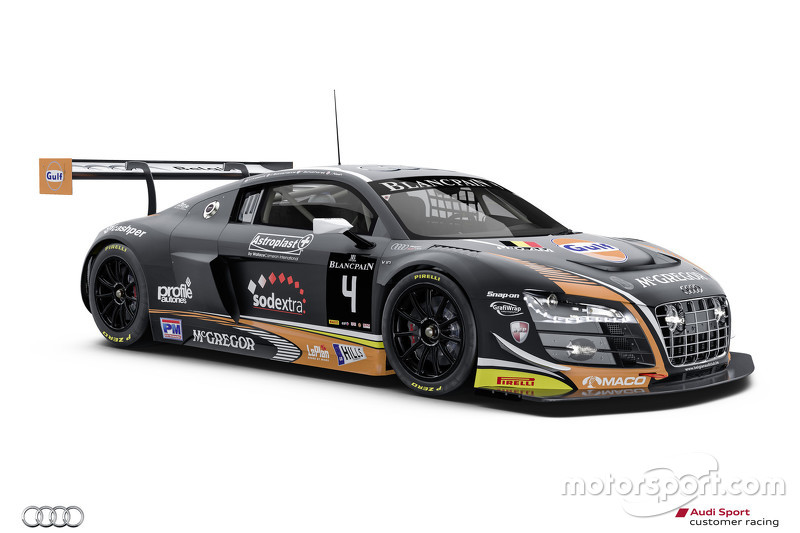 #4 Team WRT Audi R8 LMS