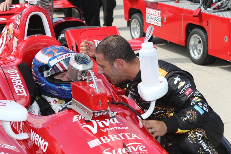 Tony Kanaan dan Scott Dixon, Chip Ganassi Racing