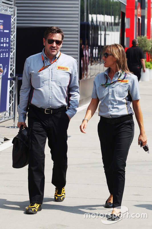 Paul Hembery, diretor da Pirelli Motorsport