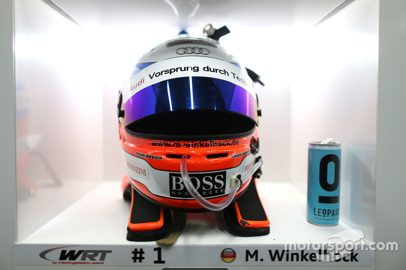Markus Winkelhock's helm