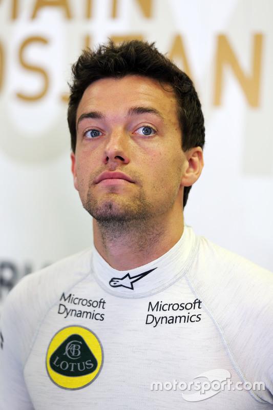 Jolyon Palmer, piloto de testes e reserva Lotus F1 E23