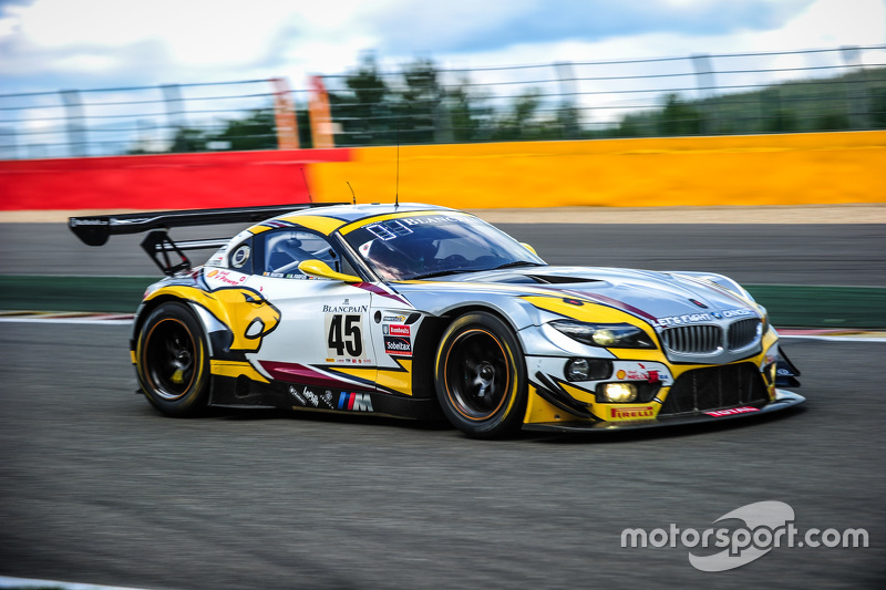 #45 Marc VDS Racing Team BMW Z4: Максім Мартін, Augusto Farfus, Дірк Вернер