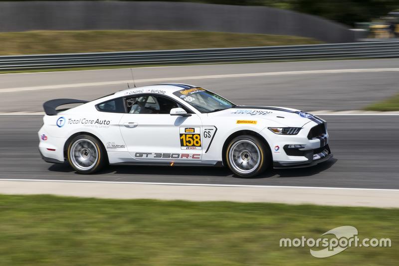 #158 Multimatic Motorsports Ford Mustang Boss 302R: Jade Buford, Austin Cindric