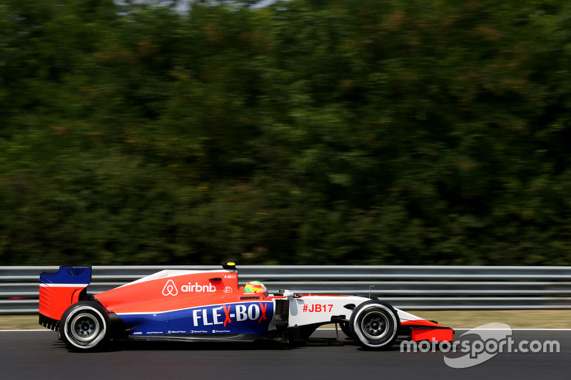 Roberto Merhi, Manor F1 Team