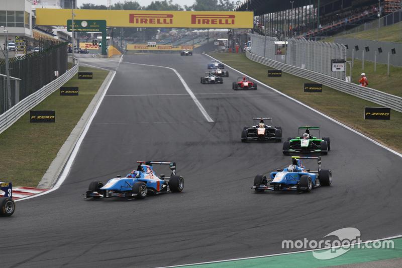 Ralph Boschung, Jenzer Motorsport leads Matheo Tuscher, Jenzer Motorsport