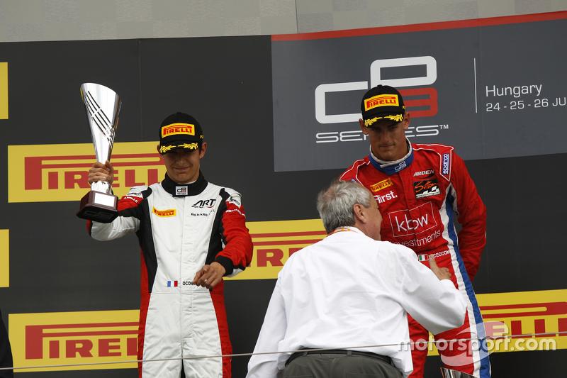 Peringkat kedua Esteban Ocon, ART Grand Prix