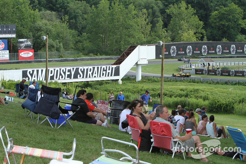 Sam Posey Straight at Lime Rock Park