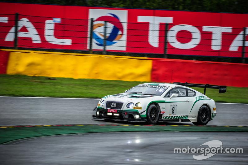 #8 Bentley Team M-Sport Bentley Continental GT3: Maximilian Buhk, Andy Soucek, Maxime Soulet