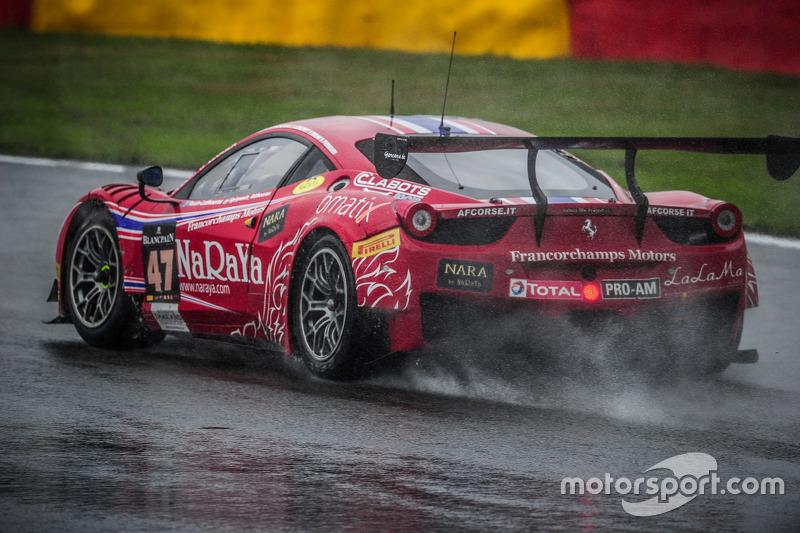 #47 AF Corse Ferrari 458 Italia: Стефан Лемере, Пасін Латурас, Алессандро П'єр Гуіді, Джанмаріа Брун
