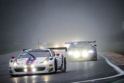 #100 Dragonspeed Ferrari 458 Italia: Henrik Hedman, Райан Далзіл, Elton Julian, Anthony Lazzaro