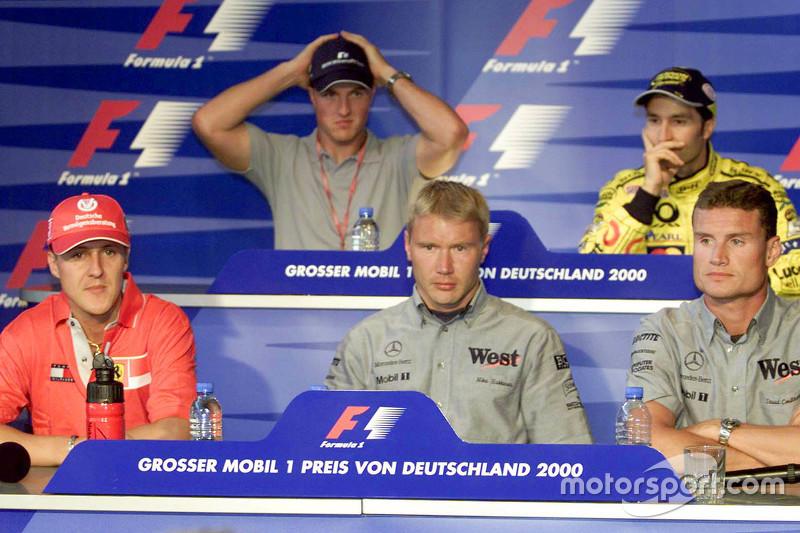 Thursday press conference: Michael Schumacher, Ferrari and Ralf Schumacher, BMW Williams and Mika Ha