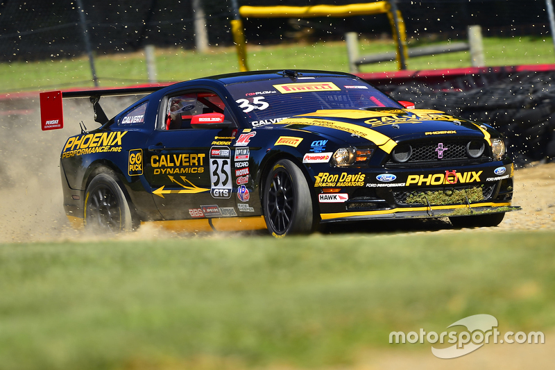 Проблеми у #35 Phoenix American Motorsports Ford Mustang Boss 302: Preston Calvert