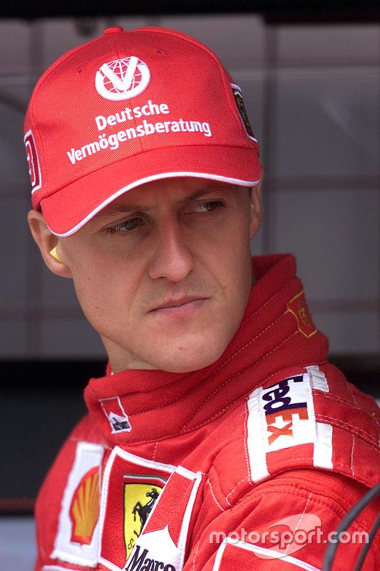 Michael Schumacher Ferrari At German Gp