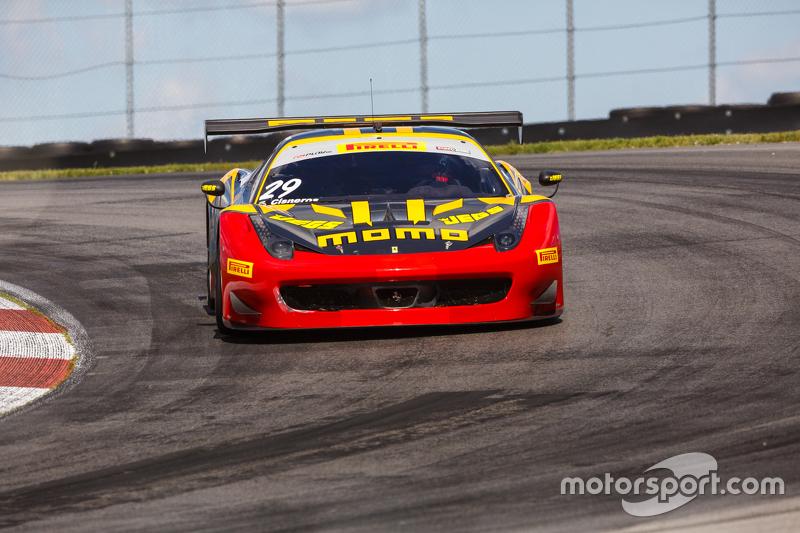 #29 NGT Motorsport Ferrari 458: Eduardo Cisneros