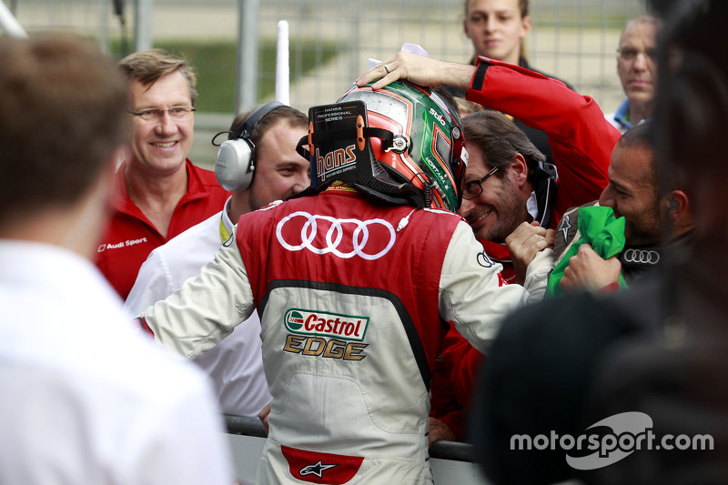 Winner Edoardo Mortara, Audi Sport Team Abt Audi RS 5 DTM