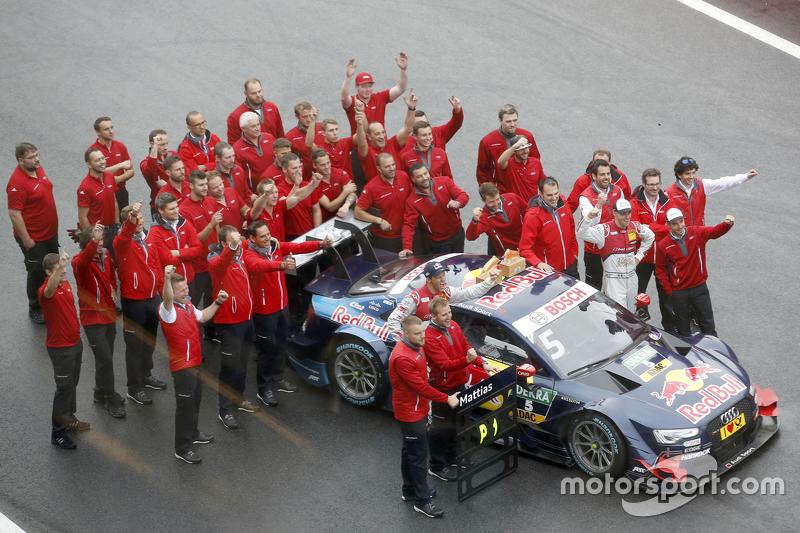 Juara balapan: Mattias Ekström, Audi Sport Team Abt Sportsline, Audi A5 DTM