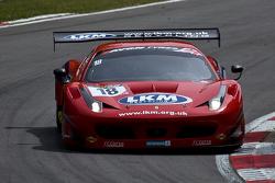 #18 FF Corse Ferrari 458 İtalya: Gary Eastwood, Adam Carroll