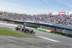 Max Verstappen en el Red Bull Showrun en Assen