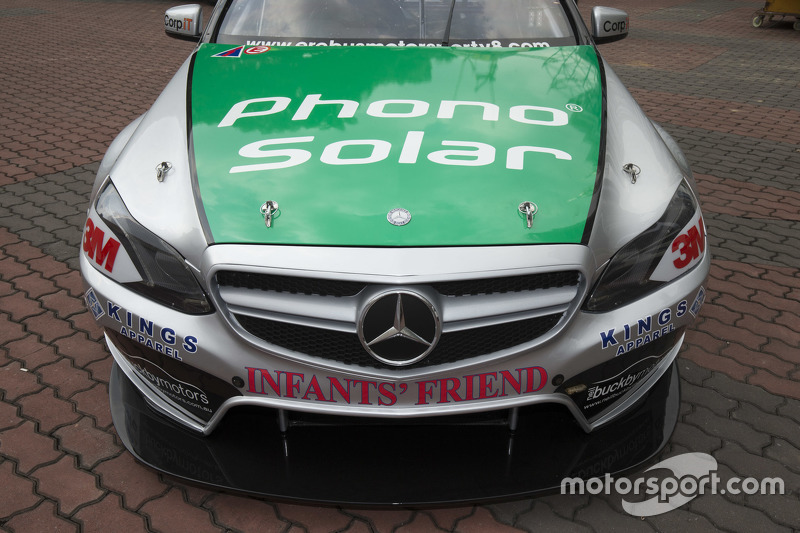 Front bonnet of Will Davison's car for KL