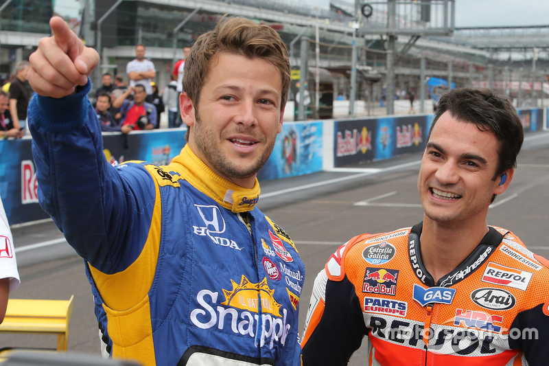 Марко Андретті, Andretti Autosport Honda та Дані Педроса, Repsol Honda Team