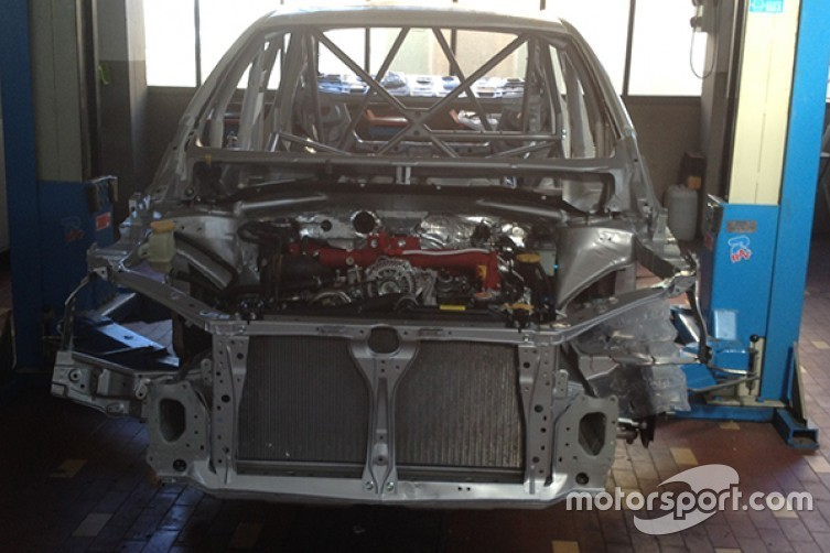 Кузов Subaru для TCR