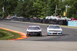 Peyton Sellers, Obaika Racing Chevrolet and Todd Bodine, King Autosports Chevrolet