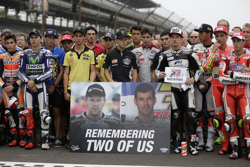 Riders remember MotoAmerica riders Bernat Martinez and Daniel Rivas