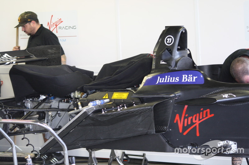 DS Virgin Racing, Detail