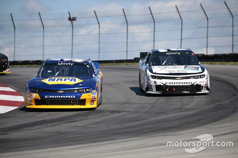 Чейз Елліот, JR Motorsports Chevrolet та Брайн Скотт, Річард Чілдресс Racing Chevrolet