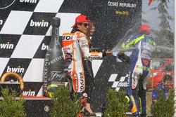 Podium: segundo lugar, Marc Márquez, Repsol Honda Team