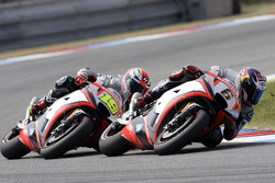 Stefan Bradl and Alvaro Bautista, Aprilia Racing Team Gresini