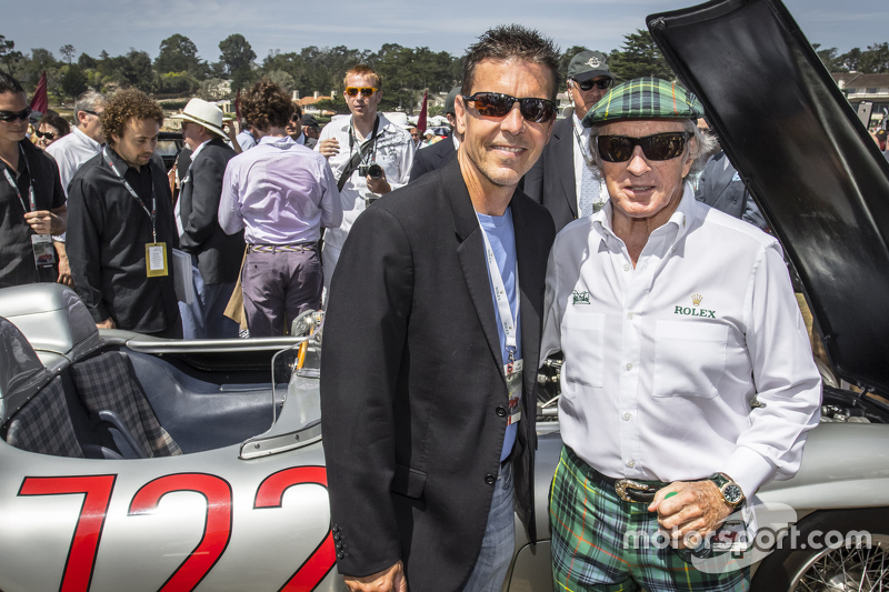 Scott Pruett and Sir Jackie Stewart