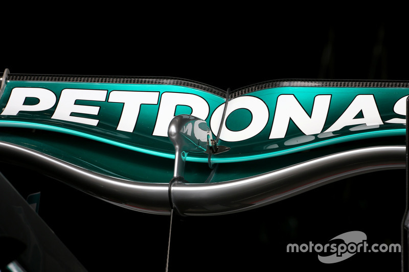 Mercedes GP, neuer Heckflügel