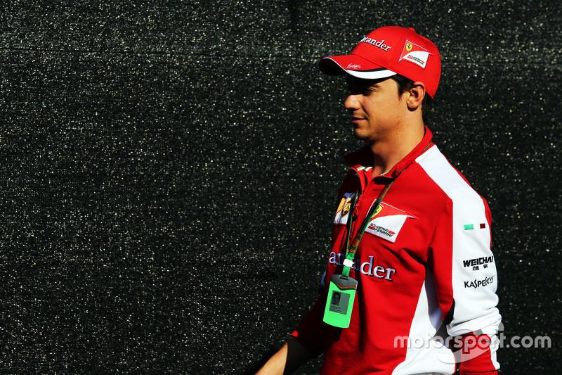 Esteban Gutierrez, Ferrari Piloto de pruebas y de reserva