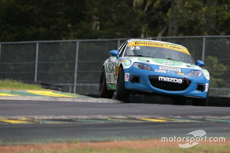 #25 Freedom Autosport Mazda MX-5: Britt Casey Jr., Devin Jones