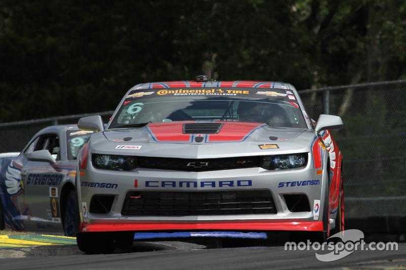 #6 Stevenson Motorsports Chevrolet Comaro Z/28.R: Ендрю Девіс, Робін Лідделл