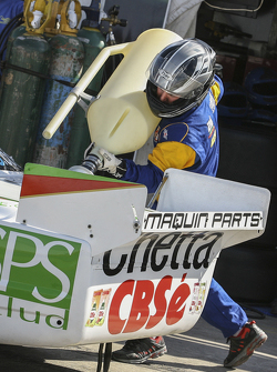 First time refueling in TC Carlos Okulovich, Maquin Parts Racing Torino