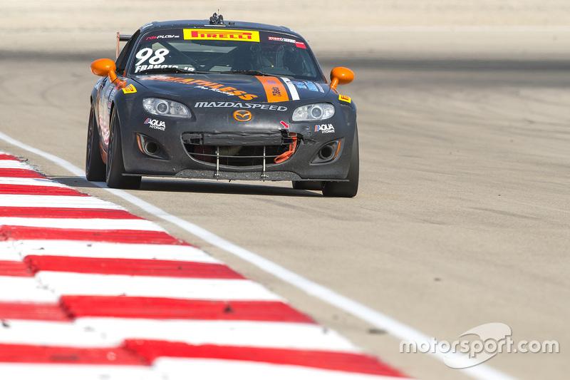 #98 Mazda MX5: Ernie Francis Jr.