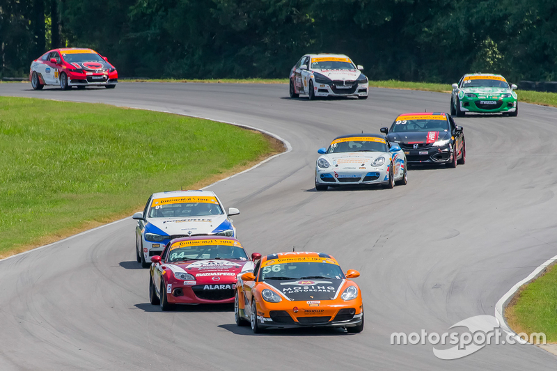 RAlton, VA - Aug 22, 2015:  The Continental Tire Sports Car Challenge teams take to the track on Continental tires for the Continental Tire Series at Virginia International Raceway in Alton, VA.