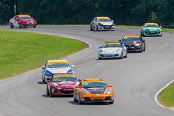 RAlton, VA - Aug 22, 2015:  The Continental Tire Sports Car Challenge teams take to the track on Continental tires for the Continental Tire Series at Virginia International Raceway in Alton, VA.