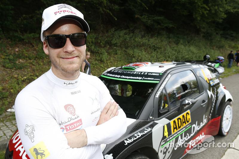 Медс Остберг, Citroën World Rally Team