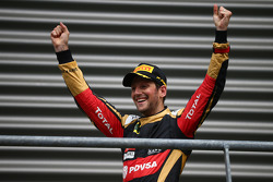 Третье место - Ромен Грожан, Lotus F1 E23
