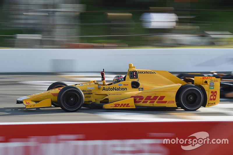 Vencedor Ryan Hunter-Reay, Andretti Autosport Honda