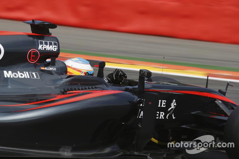 Fernando Alonso, McLaren, MP4-30